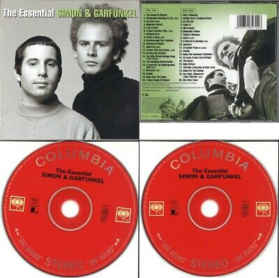 The Essential Paul Simon & Garfunkel 40 Track 2 CD Album Greatest Hits Best Of