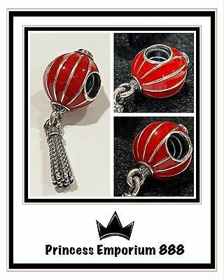 RETIRED Genuine Authentic Pandora Chinese Lantern Hanging Charm 791299EN09