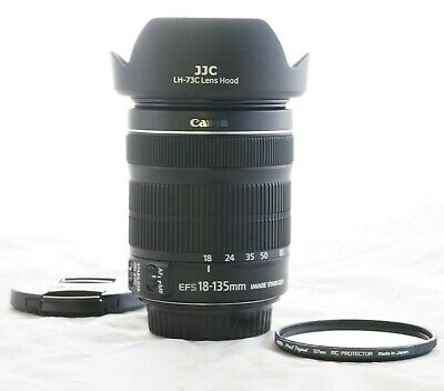Canon EF-S 18-135mm f3.5-5.6 IS STM Image Stabilizer Zoom EXTRAS 1251B