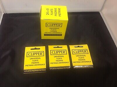 CHEAP NEW CLIPPER Lighter Flints Universal Flints. Fits All Types of Lighters