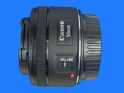 Canon EF 50 mm F/1.8 STM To Fit Canon DSLR Camera C/W Caps And Box