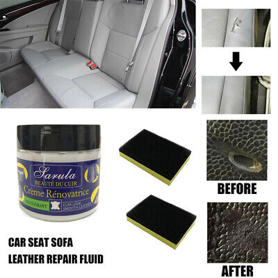 Leather Repair Filler Compound For Leather Restoration Cracks Burns & Holes Hot