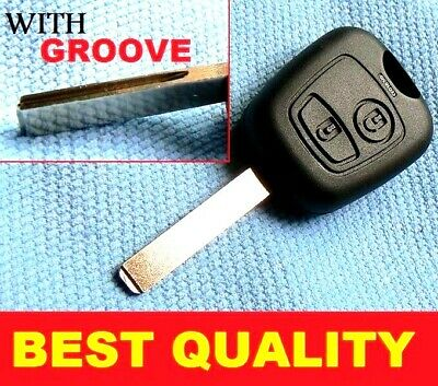 For Citroen 2 Button Remote Fob Key C1 C2 C3 C4 C5 Xsara Picasso Groove Blade
