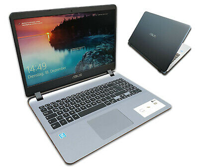 """ASUS Notebook 15"""" Quad Core 4x 2,7Ghz ~ 1256GB SSD+HDD ~ Full HD ~Win10 ~ Laptop"""