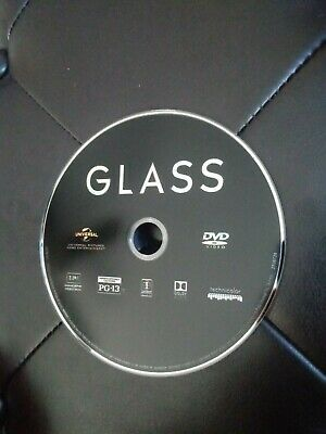 Glass: DVD 2019 Bruce Willis without case  (Free Shipping)