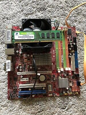 2GB Motherboard Bundle Intel DG41RQ Core 2 Duo E5200 2.5GHz