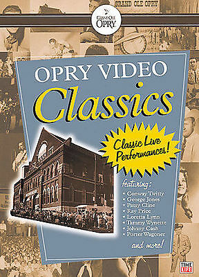 GRAND OLE OPRY DVD (Opry Video Classics) Songs that Topped