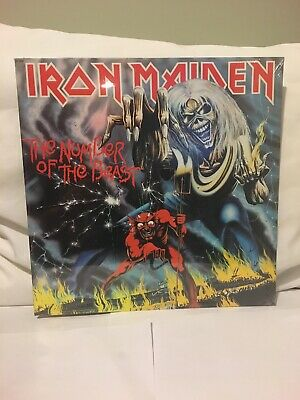 Iron Maiden The Number Of The Beast Lp 1982 Sealed First Press In Great Shape Nm