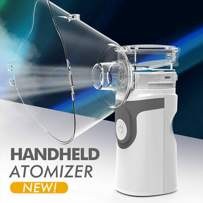 New Portable Ultrasonic Nebulizes Atomiser Child Adults Inhalers for Asthma COPD