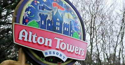 X 2 Alton Towers E-Tickets - Saturday 14th September 2019