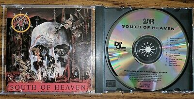 Slayer South Of Heaven First US Press CD Def Jam Records VG+++ 1988