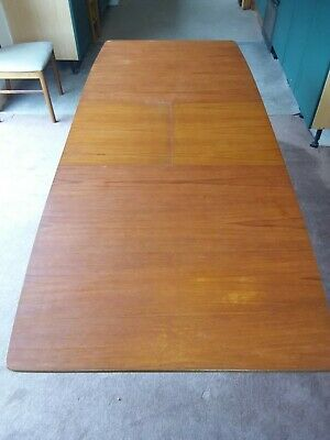 McIntosh Teak Extending dinning table and 4 retro chairs