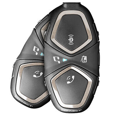 INTERPHONE BLUETOOTH HEADSET CONNECT Twin pack Bluetooth, music & GPS Directions