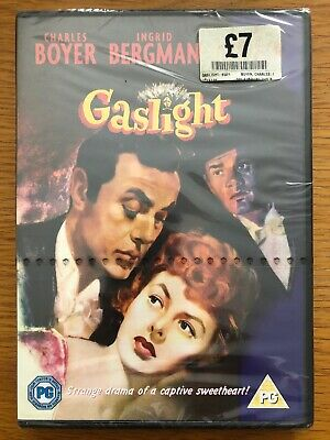 GASLIGHT 1944  MOVIE DVD. Ingrid Bergman New Sealed