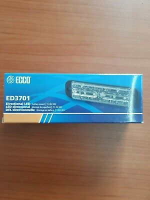 ECCO ED3701A SAE Class I, Multi Mount, Amber. Directional LED Recovery Truck HGV