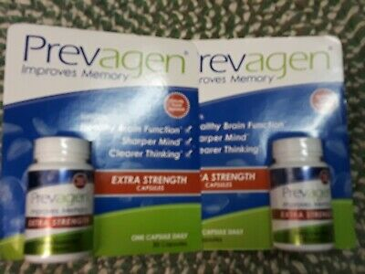 Prevagen Extra Strength chewable 30 ct bottle x 2 = 60 ct - brand new!!