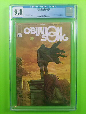 CGC 9.8 Oblivion Song #1 First Print Image Comics 2018 New Movie