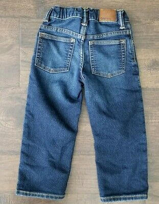 BABY GAP 1969 STRAIGHT Boys Light Wash Distressed Jeans Size 3 Years