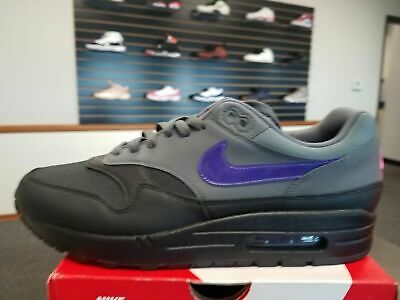 Nike Air Max 1 Miami Nights Black Grey Purple Pink AR1249 002 Men's Size us 10.5 | eBay