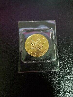 1/4 oz Gold Maple Leaf Coin - 1994 .9999 RCM - Royal Canadian Mint