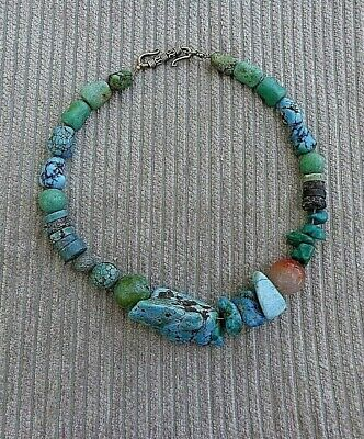 Antique Chinese Turquoises Necklace