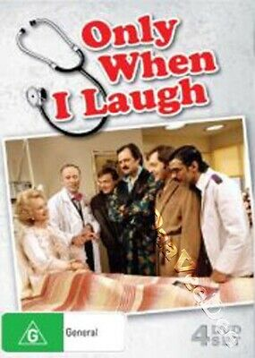 Only When I Laugh - Complete Series NEW PAL Classic 4-DVD Set J. Bolam P. Bowles