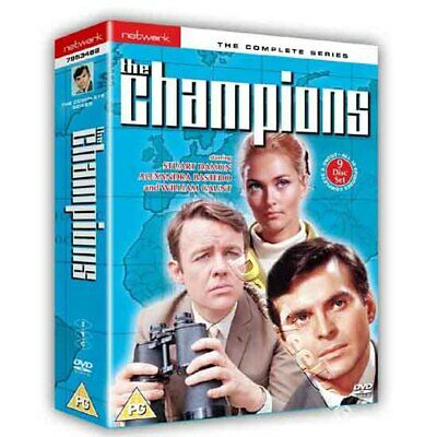 The Champions - Entire Series NEW PAL Cult 9-DVD Set