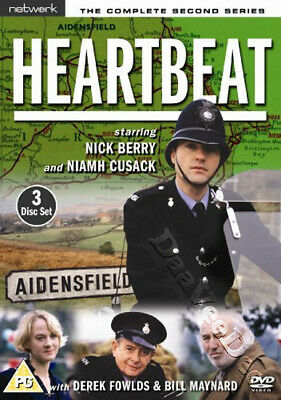 Heartbeat - Complete Series 2 NEW PAL 3-DVD Set Berry