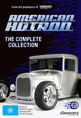 American Hot Rod - The Complete Collection NEW PAL Series 23-DVD Set Mike Curtis