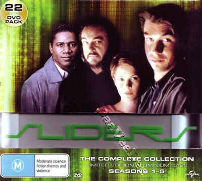 Sliders - Complete Collection Seasons 1-5 NEW PAL Cult 22-DVD Set J. O'Connell