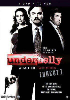 Underbelly: A Tale of Two Cities NEW PAL Cult 4-DVD Set R. Billing S. Burgess