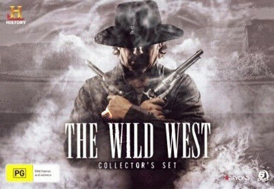 The Wild West NEW PAL Classic 6-DVD Collector's Set Kenny Rogers
