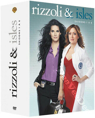 Rizzoli & Isles - Complete Series 1-6 NEW PAL Cult 22-DVD BoxSet Angie Harmon