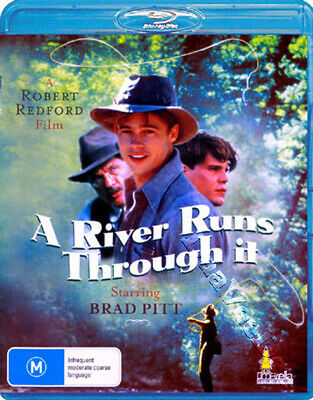 A River Runs Through It NEW Arthouse Blu-Ray Disc Robert Redford Brad Pitt