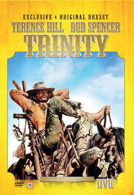 Trinity Collection NEW PAL Cult 7-DVD Box set Giuseppe Colizzi Terence Hill