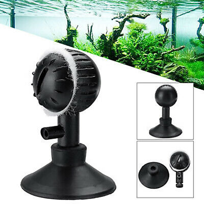 B8C3 Plastic Bubble Oxygen Aerator Aquariums Round Air Stone Diffuser Pumps