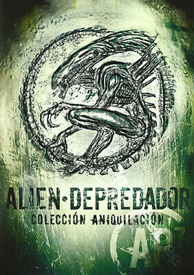 Alien / Predator Annihilation Collection NEW PAL 7-DVD Box Set