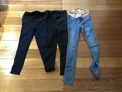 Jeanswest Over The Bump Maternity Jeans Size 8
