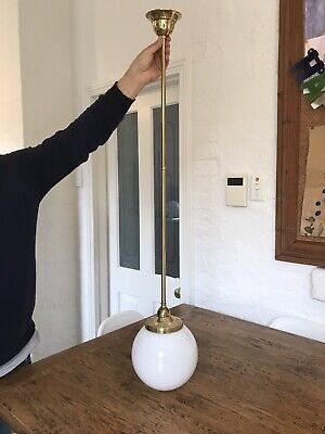 Antique Victorian Style Brass Light Fitting
