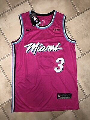 outlet store 3f58f dcc8d NEW MIAMI HEAT Vice Dwayne Wade City Edition Authentic ...