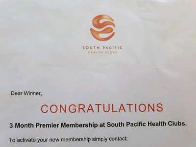 South Pacific Gym - 3 month membership