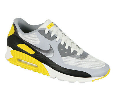 tout neuf 26cd8 6fb5e NIKE AIR MAX 90 Hyperfuse Laf Sz 13 Livestrong Edition Blanc Jaune Argent  Hyp