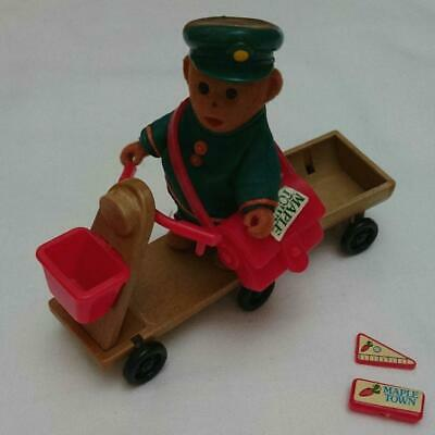 Maple Town Story 1986 Vintage Mail Delivery Doll Motorbike Bandai Made in Japan