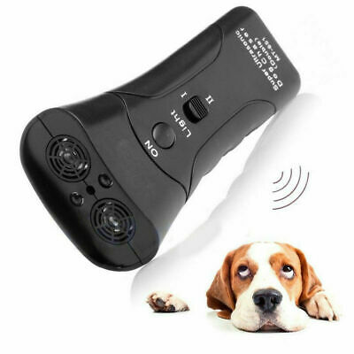 Ultrasonic Anti Bark Control Stop Barking Dog Training Repeller Control Trainer