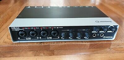 Steinberg 6x4 USB audio interface with 4x D-PREs, 24-bit/192kHz - used condition