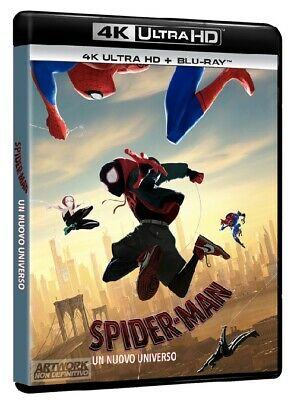 |1300232| Movie - Spider-Man: Un Nuovo Universo  [Blu-Ray x 2] Sigillato
