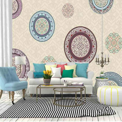 A Retro Nice Pattern 3D Full Wall Mural Photo Wallpaper Printing Home Kids Decor
