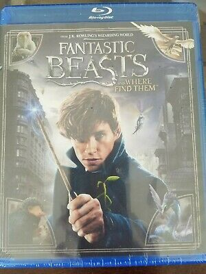 Fantastic Beasts and Where to Find Them -  Blu-ray 2016 NEW