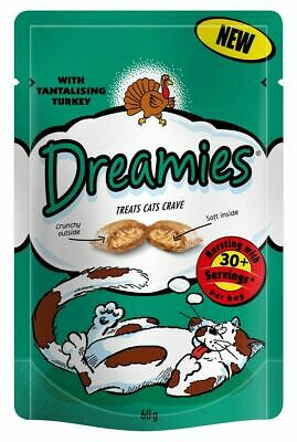 Dreamies Cat Treats with Delicious Turkey 1x60g