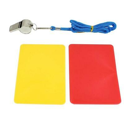 Smart Planet Referee Game Set Red and Yellow Card, Whistle with String Cards...